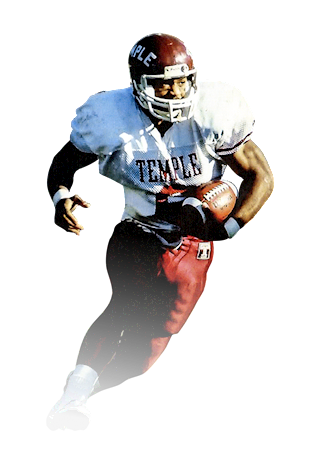 0112ae6fa29 The Potomac, Md., native was inducted into the Temple Football Hall of Fame  in 2000. Palmer currently serves as the radio analyst for Temple football  games.
