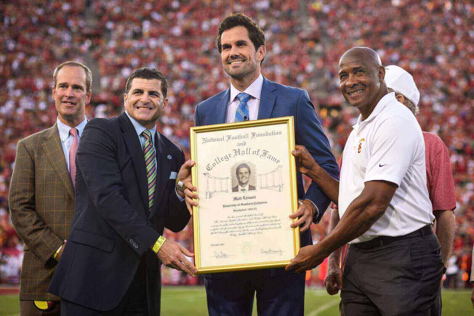 2017 Hall of Fame Class: Matt Leinart