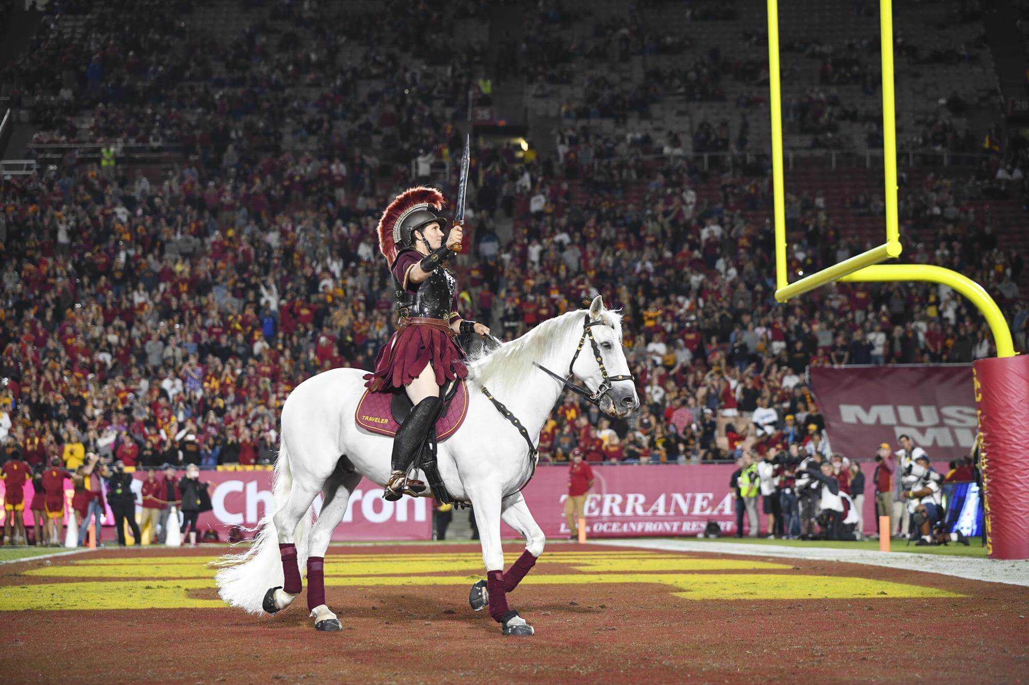 Horsing Around for the Kentucky Derby: The Tradition of USC's Mascot, Traveler