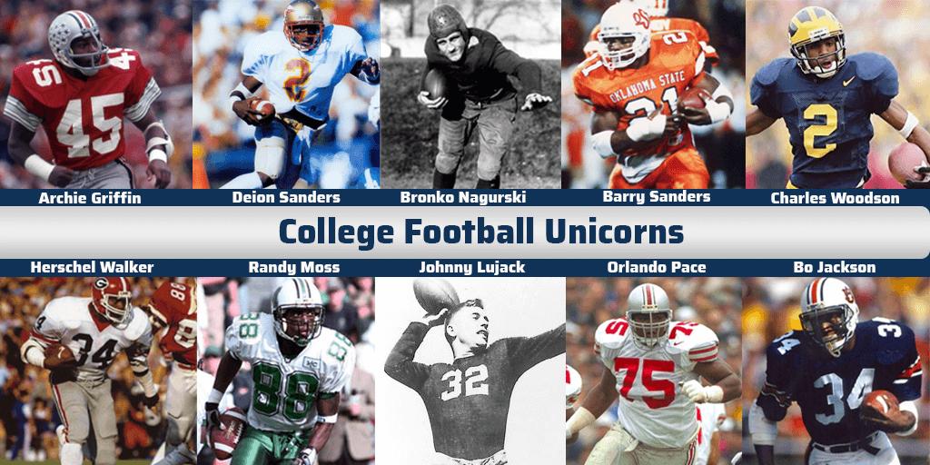 Unicorns of College Football