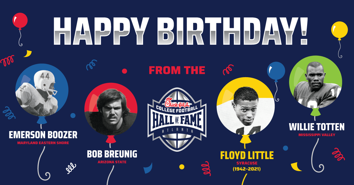 Happy 4th of July + Birthday From the College Football Hall of Fame