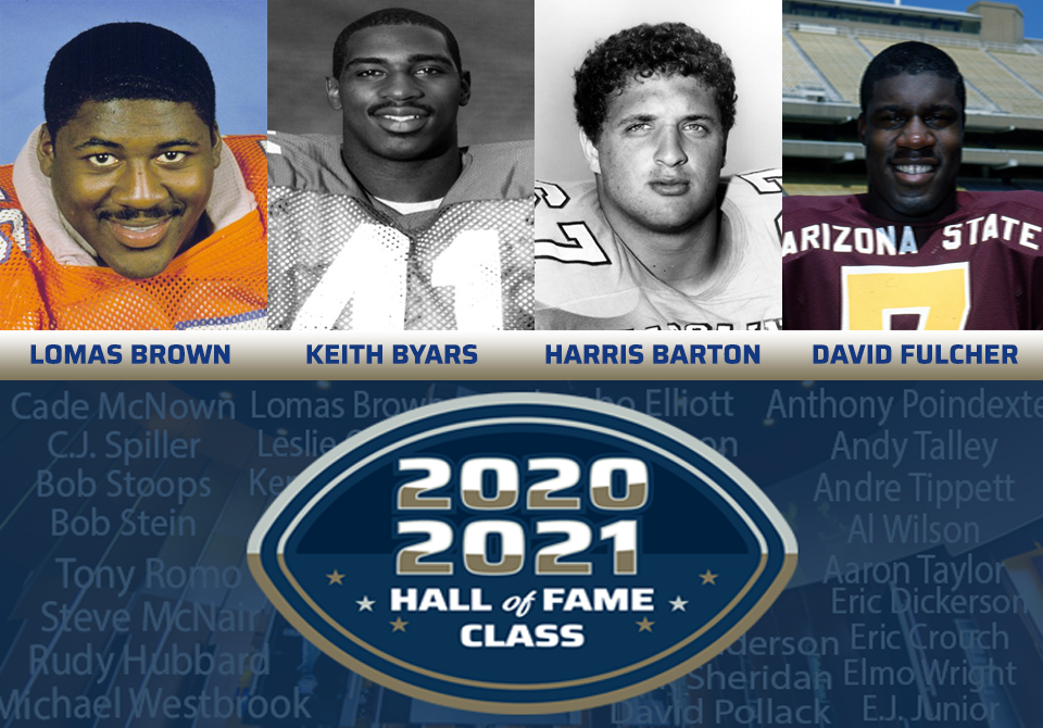 2020 & 2021 College Football Hall of Fame Classes . . . Players Spotlight Edition