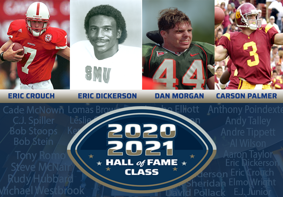 2020 & 2021 College Football Hall of Fame Classes . . . Players Spotlight Edition 2